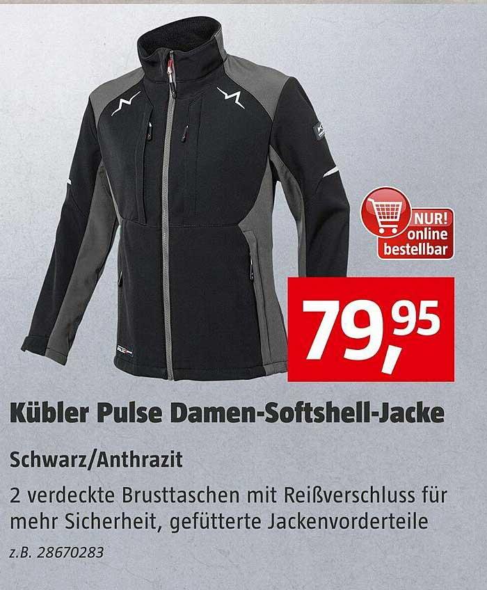Bauhaus Kübler Pulse Damen-softshell-jacke