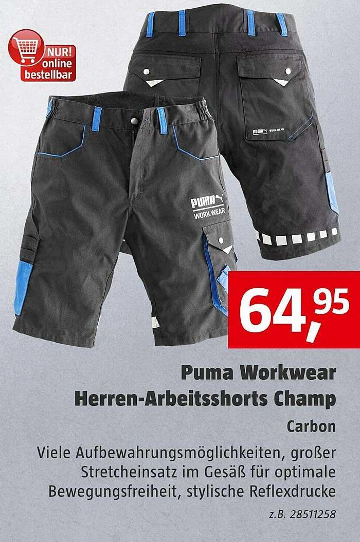 Bauhaus Puma Workwear Herren-arbeitsshorts Champ