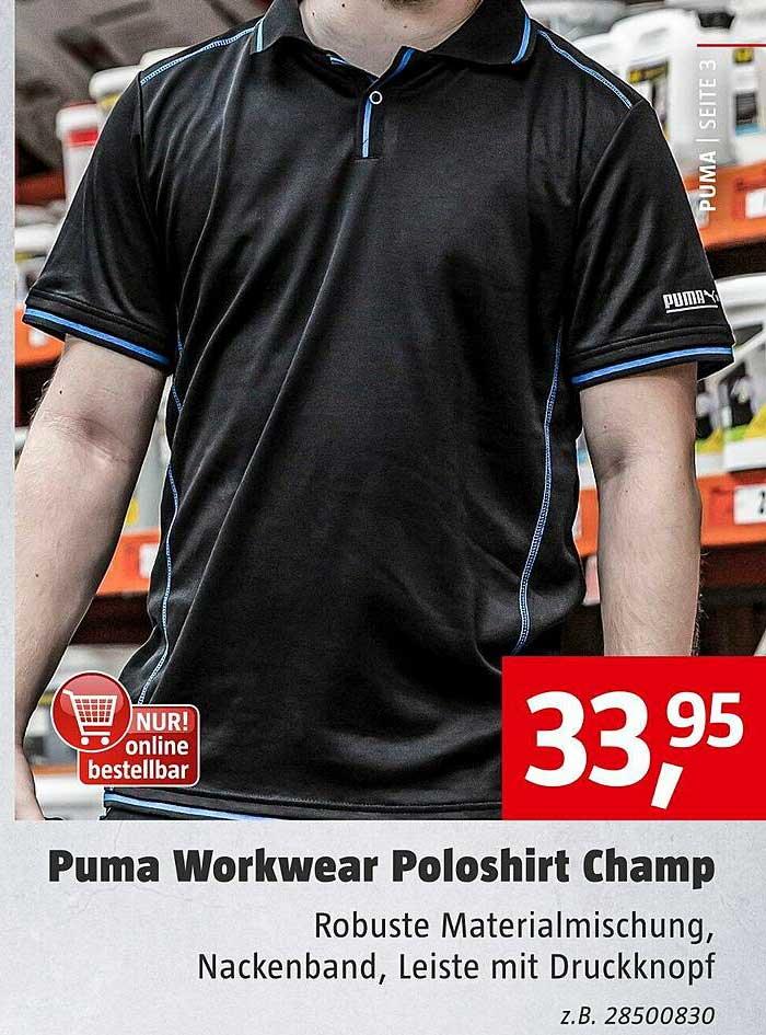 Bauhaus Puma Workwear Poloshirt Champ
