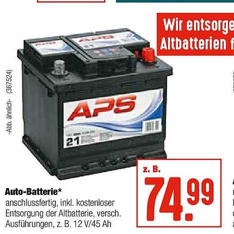 Hellweg Auto Batterie