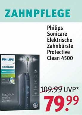 ROSSMANN Philips Sonicare Elektrische Zahnbürste Protective Clean 4500