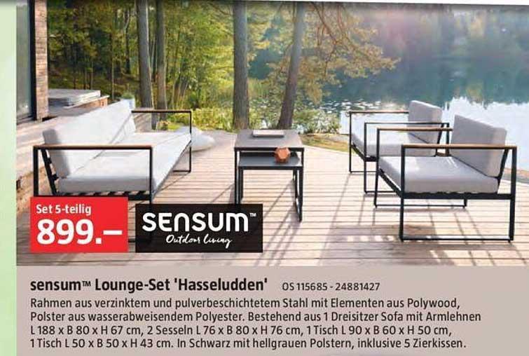 Bauhaus Sensum Lounge-set Hasseludden