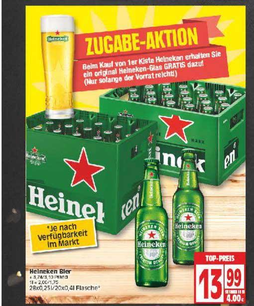 EDEKA Heineken Bier