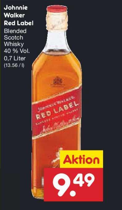 Netto Marken-Discount Johnnie Walker Red Label