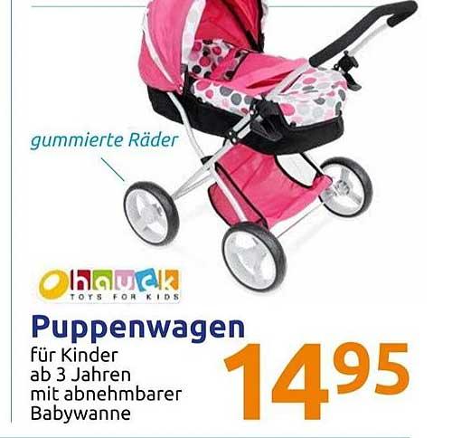 Action Hauck Puppenwagen
