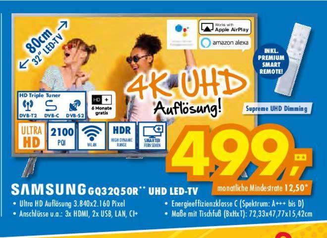 Euronics Samsung Gq32q50r Uhd Led Tv