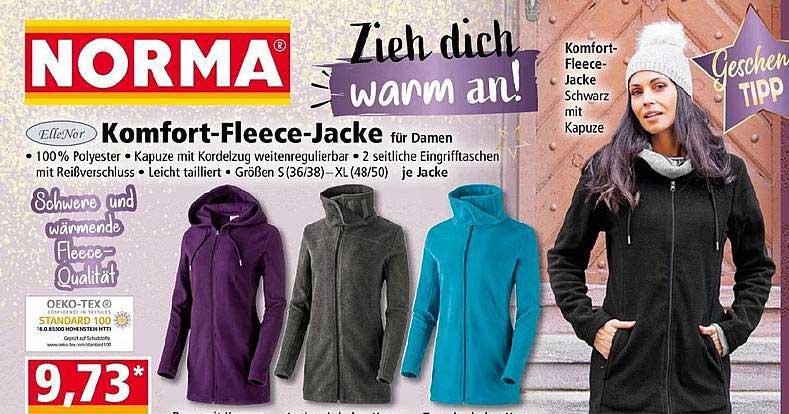NORMA Ellenor Komfort Fleece Jacke