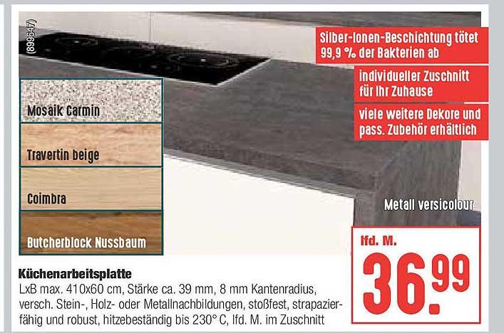Hellweg Küchenarbeitsplatte