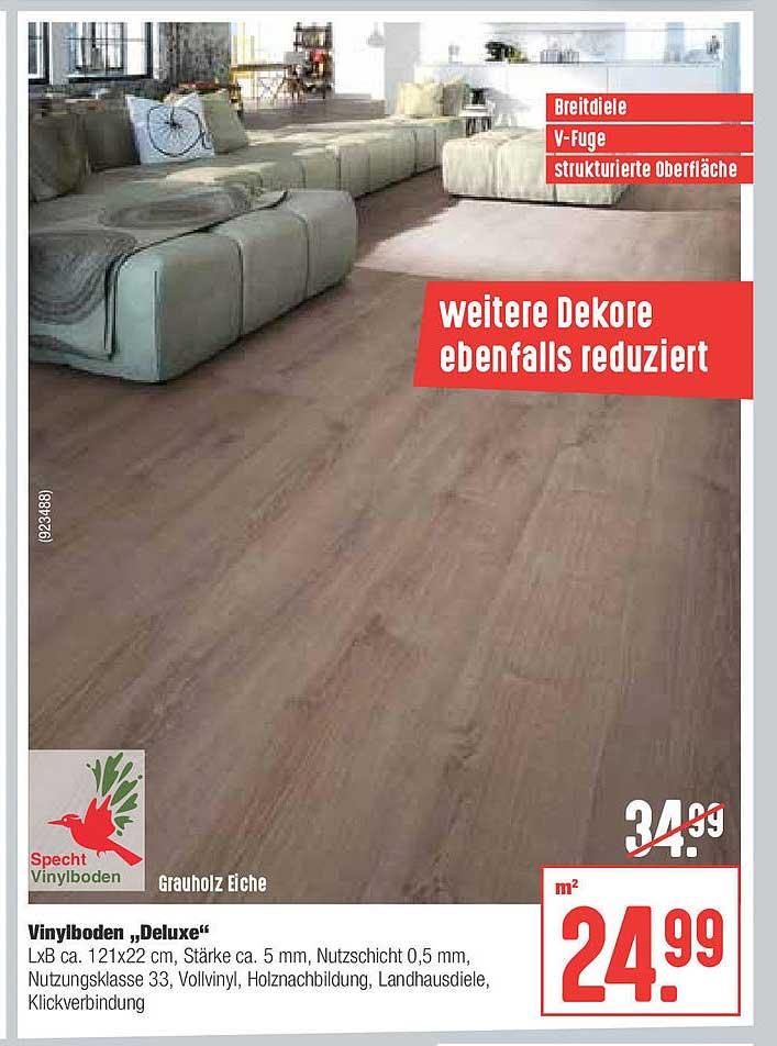 "Hellweg Specht Vinylboden ""deluxe"""