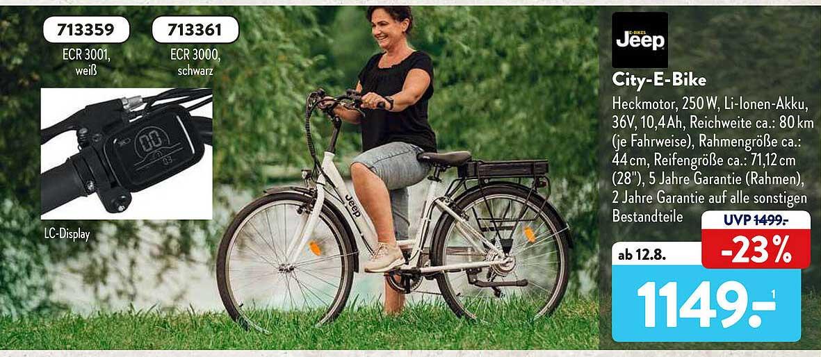 ALDI SÜD Jeep City-E-Bike