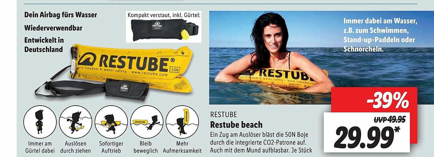 Lidl Restube Beach