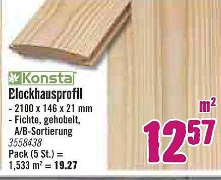 Hornbach Konsta Blockhausprofil