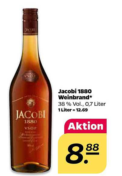 Netto Jacobi 1880 Weinbrand