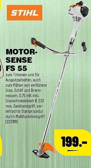 Leitermann Baumarkt Stihl Motorsense Fs55