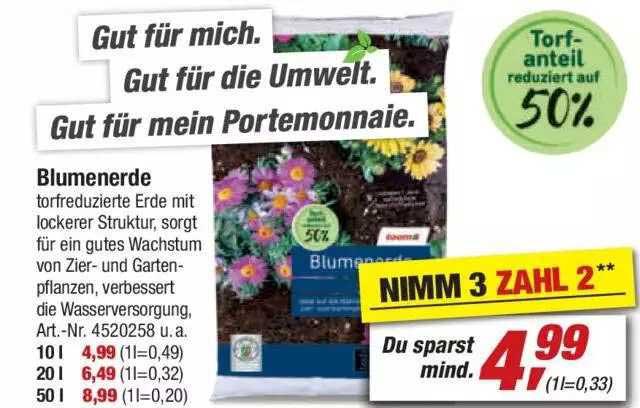 Toom Baumarkt Blumenerde