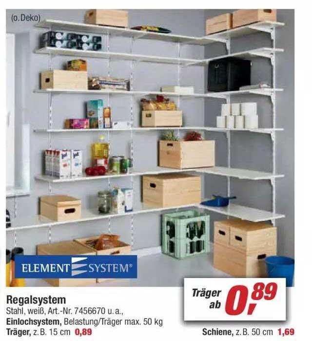 Toom Baumarkt Element System Regalsystem