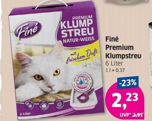 Budni Finé Premium Klumpstreu