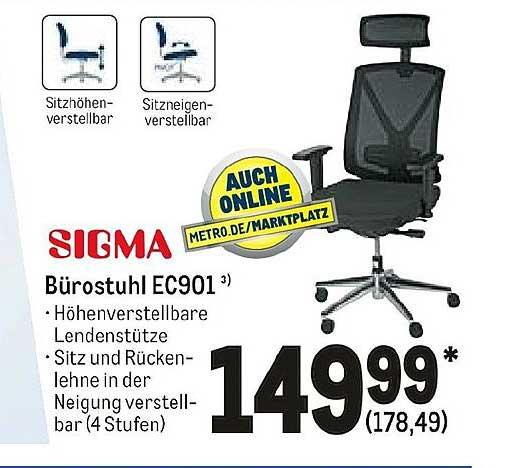 METRO Sigma Bürostuhl Ec901