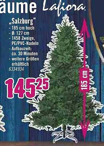 """Hornbach Weihnachtsbaum Lafiora """"salzburg"""""""