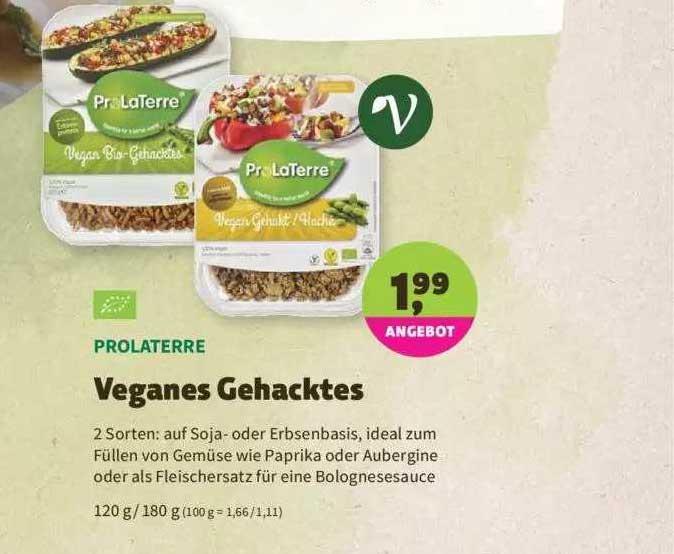 Denns Biomarkt Prolaterre Veganes Gehacktes