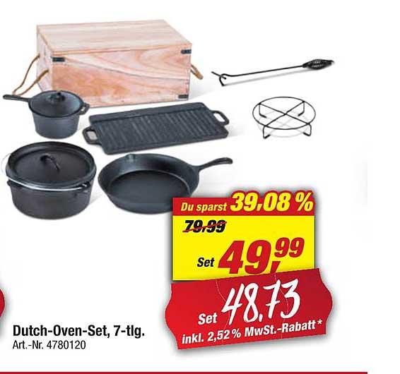 Toom Baumarkt Dutch Oven Set, 7 Tlg.