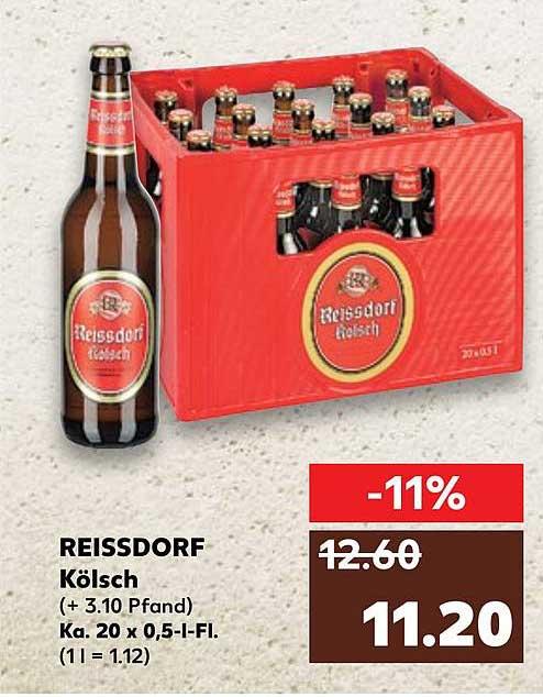 Kaufland Reissdorf Kölsch