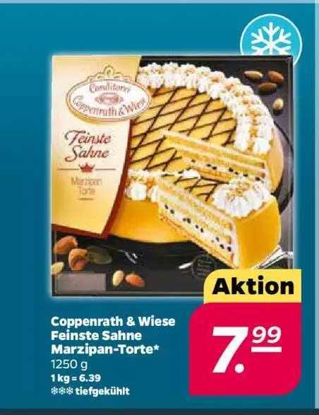 Netto Coppenrath & Wiese Feinste Sahne Marzipan-torte