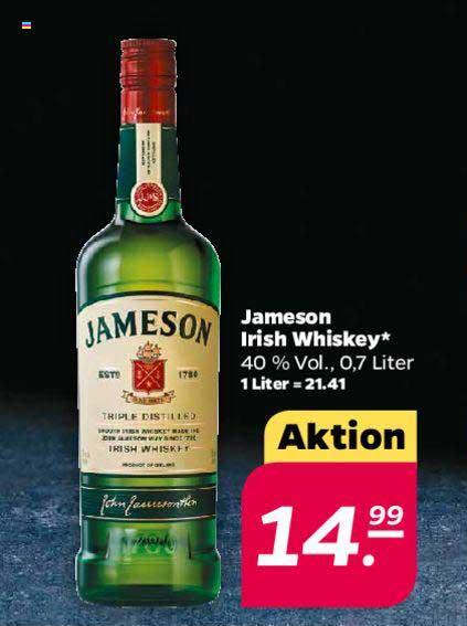 Netto Jameson Irish Whiskey