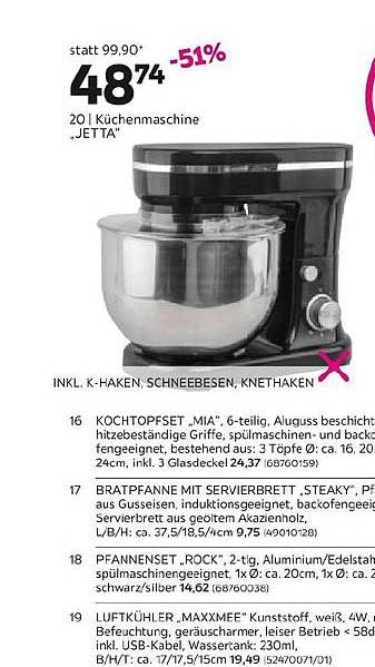 """Mömax Küchenmaschine """"jetta"""""""