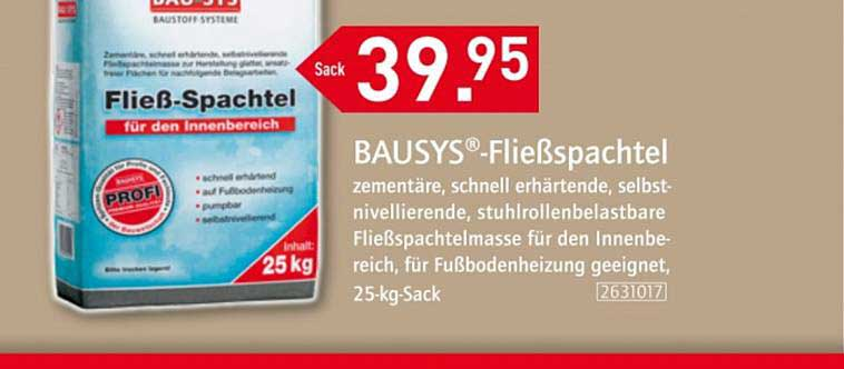 Bauking Bausys Fließspachtel
