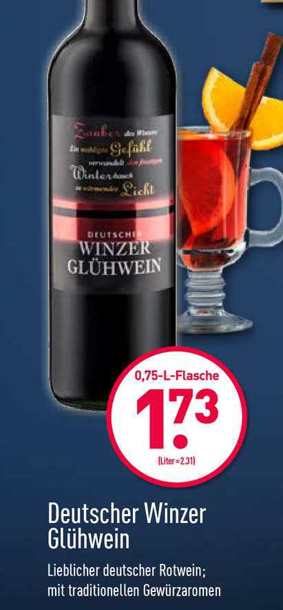 ALDI Nord Deutscher Winzer Glühwein