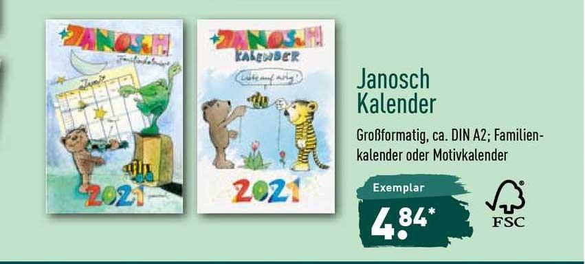ALDI Nord Janosch Kalender