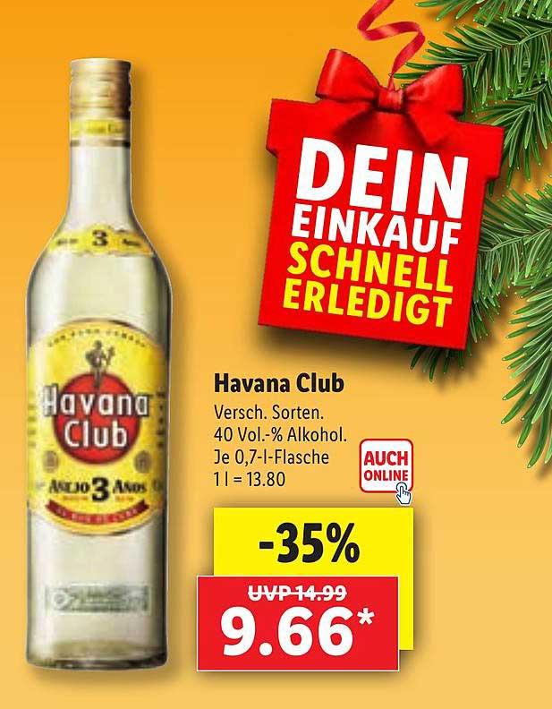Lidl Havana Club