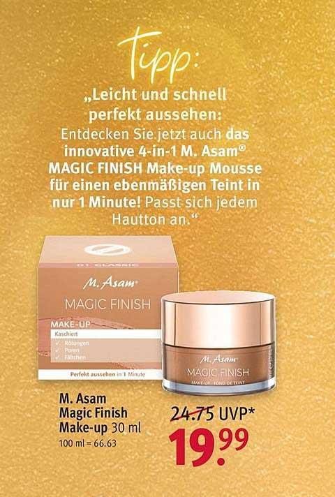 ROSSMANN M. Asam Magic Finish Make Up