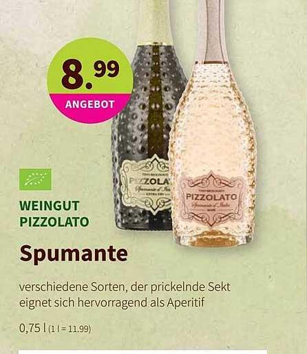 BioMarkt Weingut Pizzolato Spumante