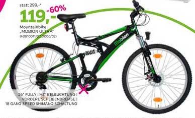 Mömax Mountainbike ,, MOBION ULTRA