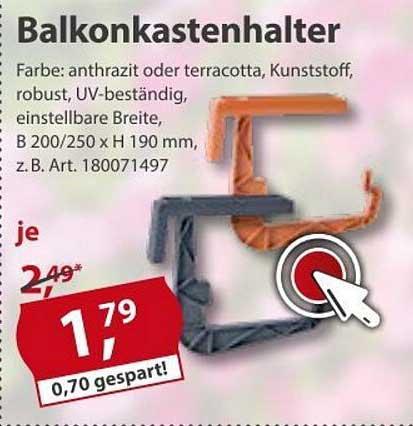 Sonderpreis Baumarkt Balkonkastenhalter