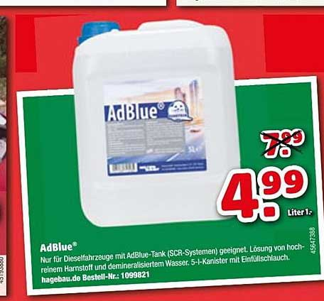 Hagebaumarkt Adblue