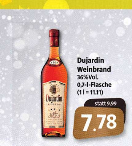 Markant Markt Dujardin Weinbrand
