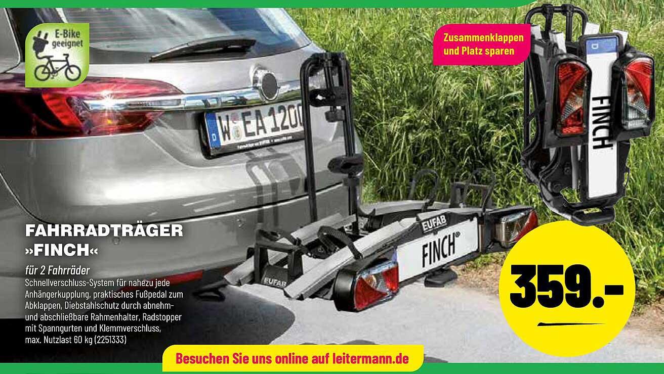 "Leitermann Baumarkt Fahrradträger ""finch"""