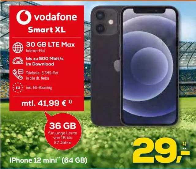 Euronics Vodafone Smart XL Mit Iphone 12 Mini