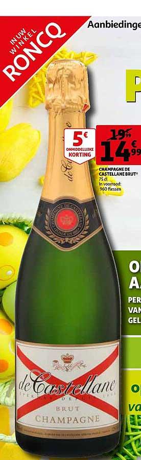 Auchan Champagne De Castellane Brut