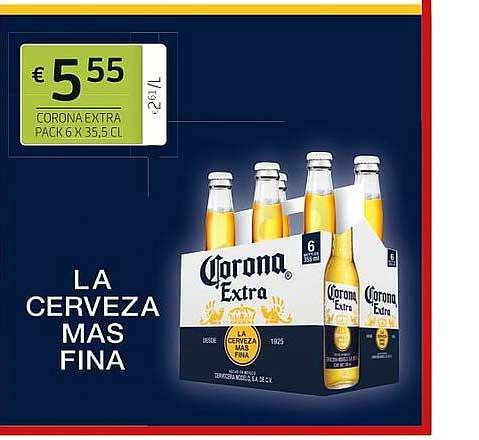 BelBev Corona Extra La Cerveza Mas Fina