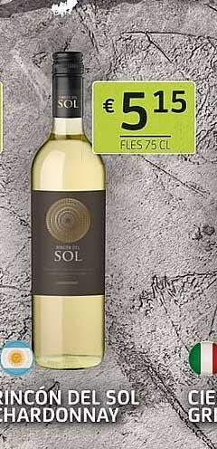BelBev Rincon Del Sol Chardonnay