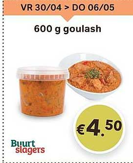 Bon Ap 600 G Goulash