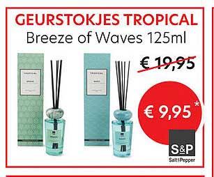 Meubelen Jonckheere Geurstokjes Tropical Breeze Of Waves 125ml S&p