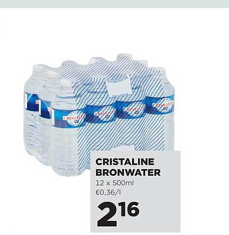 Jumbo Cristaline Bronwater