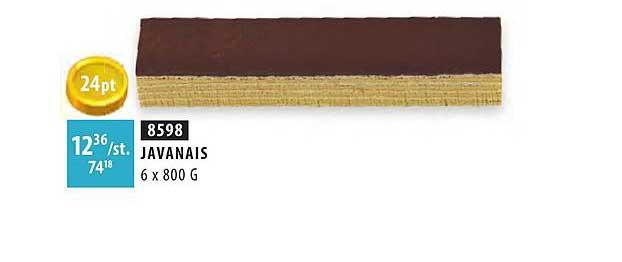 Bidfood Javanais 6x800 G