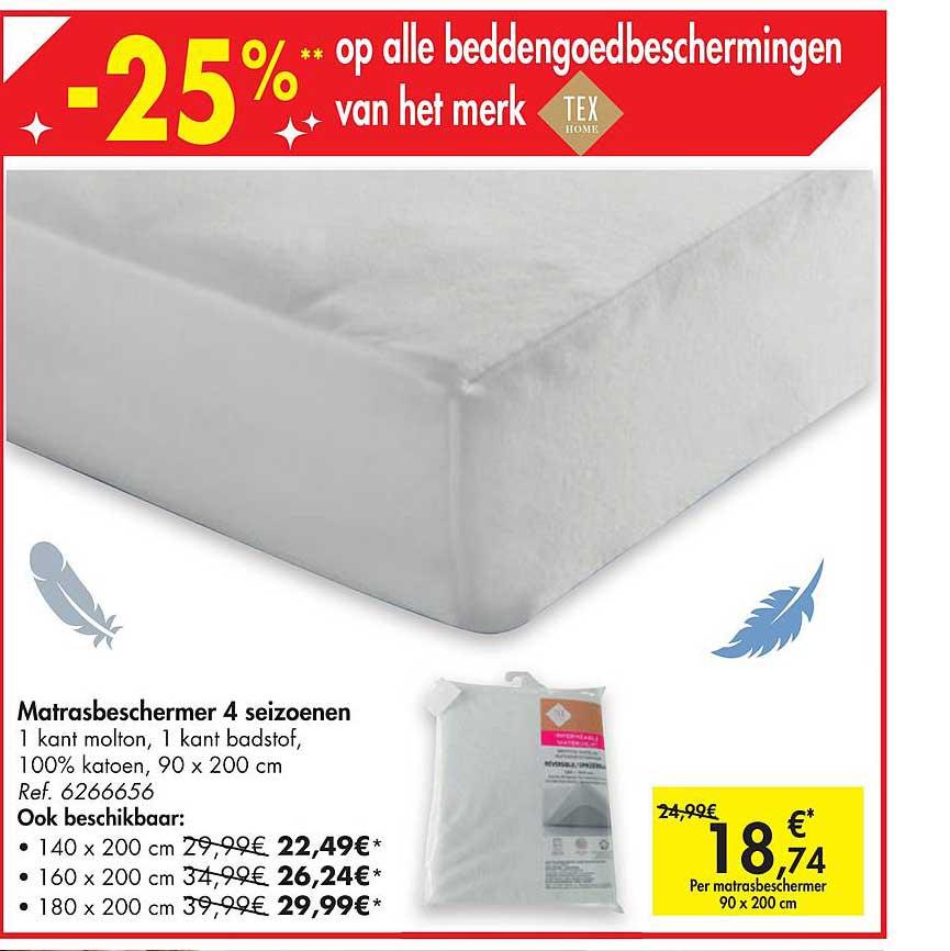 Hyper Carrefour Matrasbeschermer 4 Seizoenen