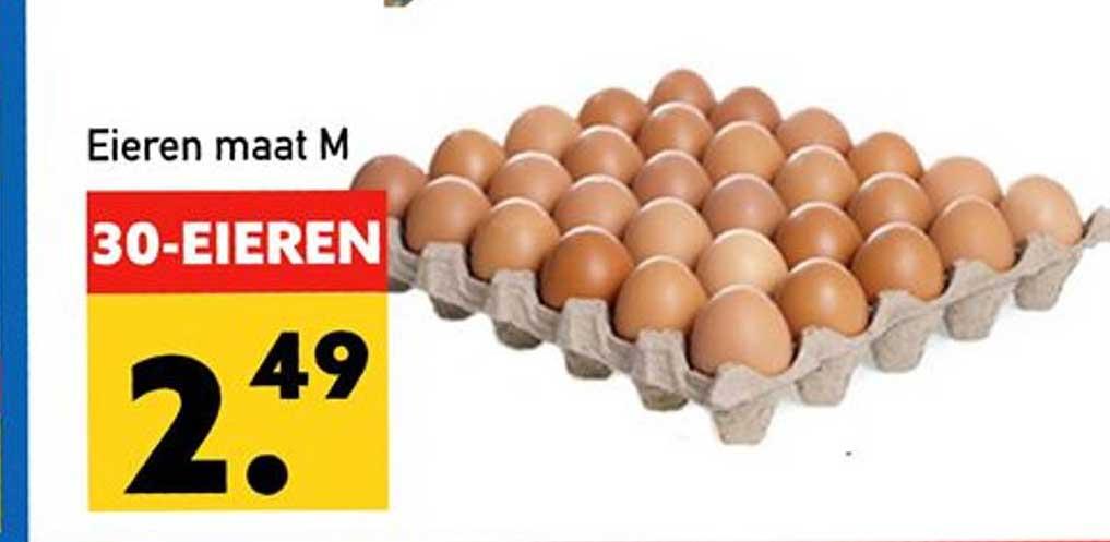 Tanger Markt Eieren Maat M